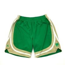 Adidas ND Short Basketball Notre-Dame Combat Vert Irlandais Hommes XXL - $28.70