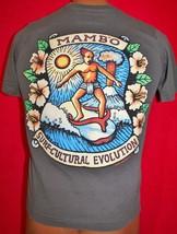 Vintage 90s MAMBO Australia SURF CULTURE EVOLUTION T-SHIRT S Surfing RARE - $98.99