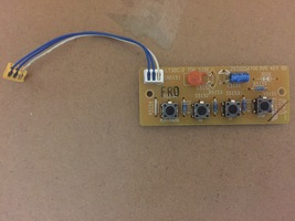 DVD KEYCONTROL PCB LT32C-2 2970054700 FROM WESTINGHOUSE LTV-32w4 SLT32D ... - $8.99