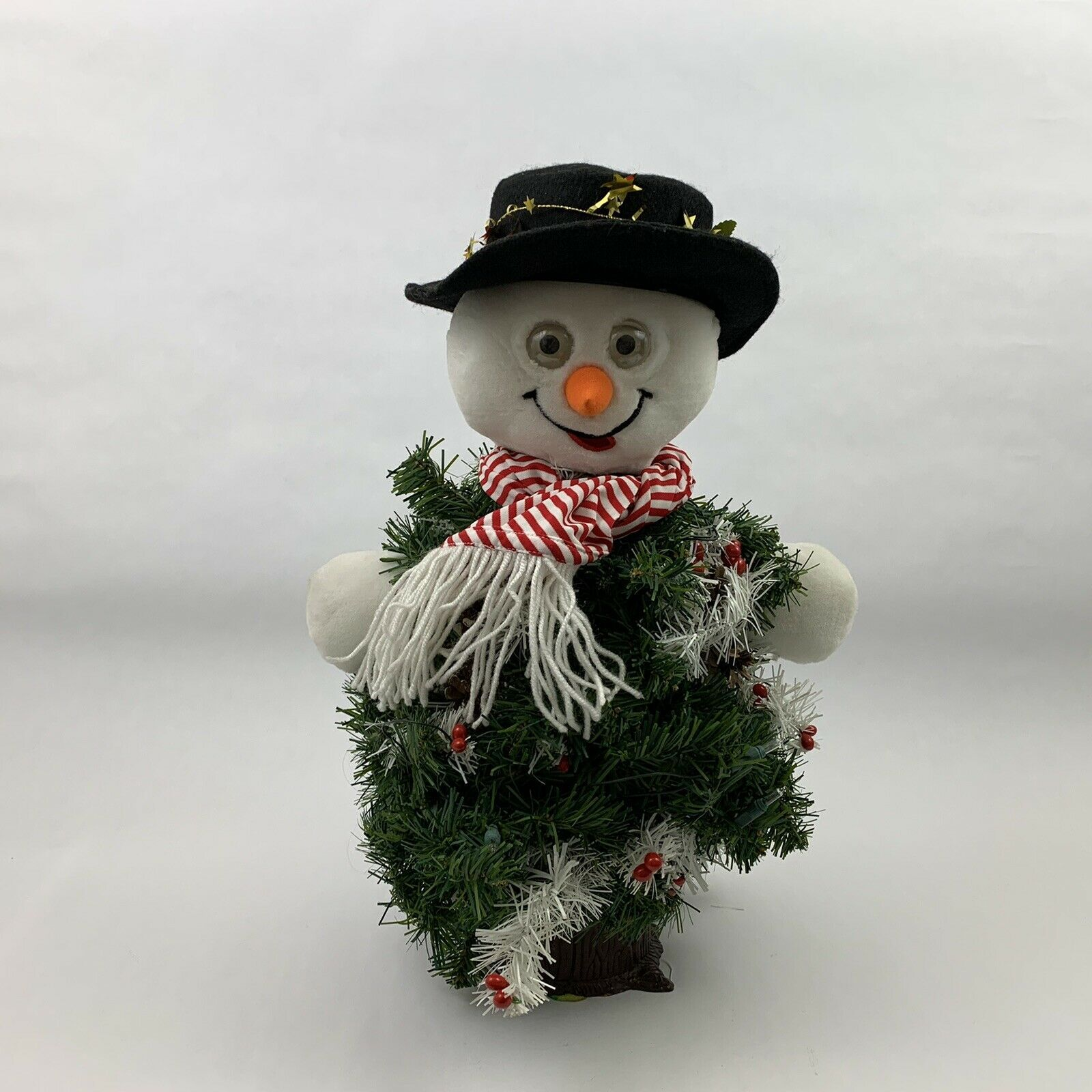 Primary image for The Musical Dancing Christmas Tree Snowman Holiday Singing 18 Inches
