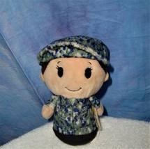 "Hallmark Itty Bitty Military Girl in Camo Uniform 4.5 "" Stuffed Animal P... - $12.82"