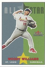 2003 Fleer Tradition Update Woody Williams 244 Cardinals - $1.00