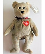 1999 Signature Bear Ty Plush Beanie Baby Valentines Day Mint with Tags R... - $5.93