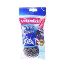 Vileda Glitzi INOX Dish scourer STEEL/ Rust free - Pack of 3 - FREE SHIP... - $9.41