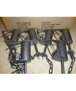 6 Duke DP Dog Proof Coon Traps  Lil Griz Trapping Foothold Trap Raccoon ... - $74.20
