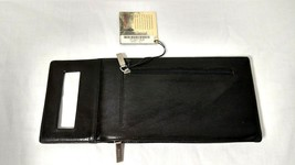 "Rare!!! New w/Tags Black Hobo International Leather ""Banca"" Clutch Purse Wallet - $29.69"