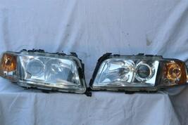 01-03 Audi A8 S8 Quattro HID Xenon Headlight Head Lights Set L&R - PRO POLISHED