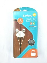 2 pack - Safety 1st Side By Side Cabinet Locks NEW In Package Secure Tech - $9.89