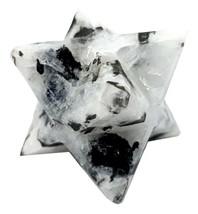 Arc-En-Ciel Lune Merkaba Étoile Reiki Énergie Chargé Cristal Naturel Soin - $16.81