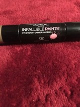L'Oreal Infallible Paints Eyeshadow Duo 310 Army Camo. NEW - $12.75