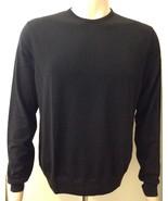 Ralph Lauren Hombre Suéter De Lana NEGRO TALLA GRANDE LILA LABEL - $288.86