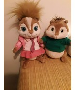"Lot of 2 Build A Bear 9"" Chipmunk Theodore And 11 inch Brittany - $19.75"