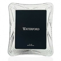 """Waterford Crystal Seahorse 8"""" x 10"""" Wedge Cut Picture Frame New In Box #... - $248.24"""