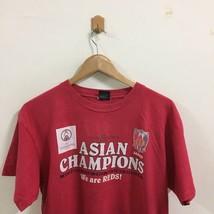 J League Urawa Reds Asian Champion Soccer Football T-Shirt Size L Red, Japan JFA image 2