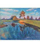 Impressionist Painting *Chernevka Melodie* Signed, V.Barhatkov ! - $377.00