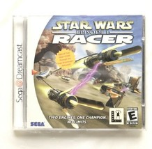 ⭐ Star Wars Episode I 1 Racer (Sega Dreamcast 2000) COMPLETE in Box Game... - $66.85 CAD