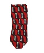 JOS. A. BANK Mens Made in Italy Geometric XL Red Blue Gold Silk Tie Desi... - $19.78