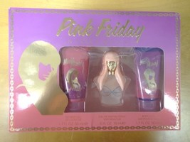 Nicki Minaj Pink Friday Shower Gel, Parfum Spray, Body Lotion Gift Box - $62.99