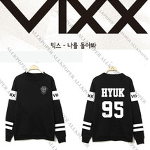 Kpop VIXX Sweater V.I.X.X. Zelos Hoodie Hongbin Hyuk Ken Leo N Ravi Pull... - $12.99