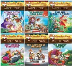 Geronimo Stilton MICEKINGS Children's Fantasy Series PAPERBACK Collectio... - $39.99
