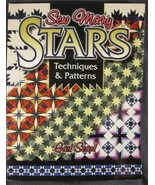 Sew Many Stars : Techniques and Patterns by Barbara Smith and Gail Searl... - $9.49
