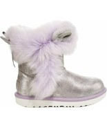 UGG Boots Maizey Classic II Fluff Squad Silver BK5 or 6 fits W6.5 or 7-7.5 - $119.99