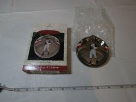 Hallmark Satchel Paige Keepsake Ornament Baseball heroes 1996 RARE Chris... - $9.08