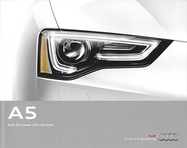 2013 Audi A5 sales brochure catalog US 13 2.0T - $8.00