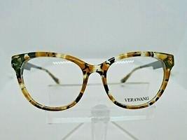 VERA WANG V 375 (CM) Carmel Chrystal 51 X 17 130 mm Eyeglass Frame - $79.15