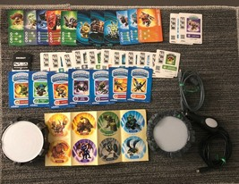 Skylanders Swap Force Nintendo 3DS Lot Portal of Power Pieces Stickers Charger - $84.15