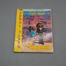 Vintage Grand Canyon Plastichrome Photographique Souvenir Livre - $9.80