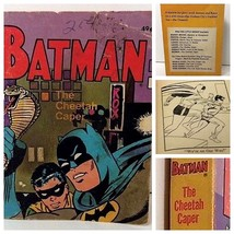 Vintage BATMAN Paperback The Cheetah Caper Whitman Big Little Book 1969 - $21.57