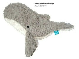Adorables Whale Large #326320 by Manhattan Toy - Brand New with Tag - $22.54