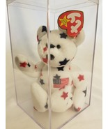 GLORY BEANIE BABY, ORIGINAL, PE PELLETS, TAG ERROR Vintage, In box, Mint - $6.88