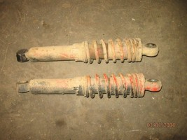 SUZUKI 1985 LT185 2X4 2 FRONT SHOCKS (BIN 59) P-941L PART 13,758---MAKE ... - $20.00
