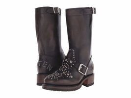 DSQUARED2 Turkish Biker Moto Boots Size EU43/10 M US Made in ITALY BNIB - $553.51