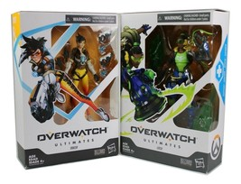 Overwatch Ultimates Series 6 Inch Collectible Figure, Lucio & Tracer - $23.99