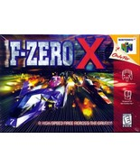 F-Zero X N64 Great Condition Fast Shipping - $24.93