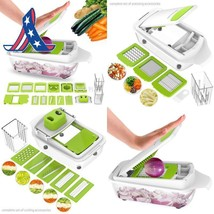 Vegetable Chopper Dicer Slicer Cutter Manual/Vegetable Grater,Lovkitchen... - $34.67