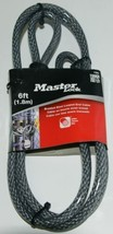 Master Lock Company LLC 78D Braided Steel Looped End Cable Gray image 1