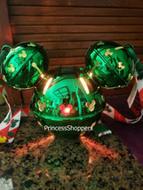 Disney Parks 2020 Christmas Mickey Jingle Bell Green Light-Up Sipper Cup... - $44.54