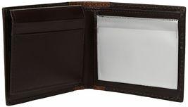 Tommy Hilfiger Men's Leather Credit Card ID Wallet Billfold Brown 31TL22X047 image 4