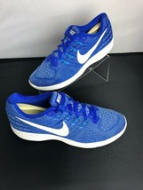 Nike Lunartempo 2 Racer Blue Plastic Running Shoes 818098 405 Womens Size 9 - $44.55