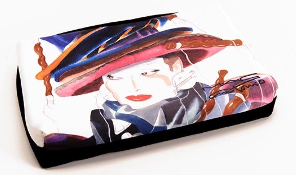 MAC ANTONIO LOPEZ COSMETICS MAKEUP BAG CASE