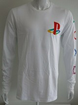 Playstation Mens Graphic Tee White 100% Cotton Sizes M L XL T-Shirt - $26.69