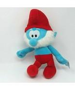"Papa Smurf Plush Toy Stuffed Doll 16"" Peyo Nanco 2010 The Smurfs - $28.01"