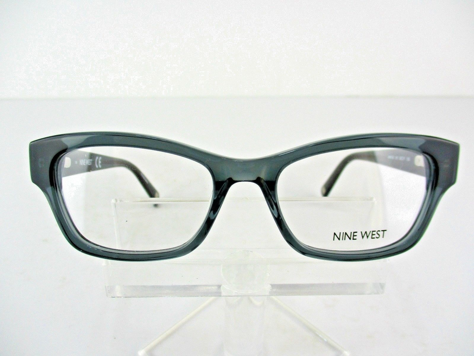 Nine West NW 5128 (010) Crystal Charcoal 50 x 17 135 mm Eyeglass Frames