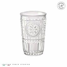Bormioli Rocco Romantic 11 1/2 oz Tumbler Set of 4 Color Clear +++ - NEW - $29.99