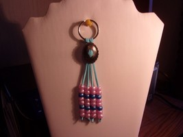 Handmade Concho Suede Leather Southwest Style Keychain Ring *NWOT* - $7.91