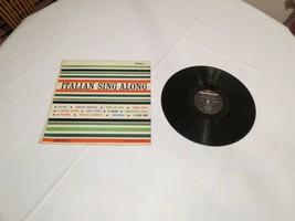 Italian sing along diplomat lyrics FM 95 Volare LP Album record RARE vinyl - $16.02